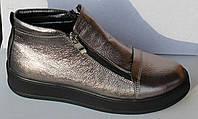 Весенние женские ботинки кожаные, женская обувь кожаная от производителя модель НП1516-6-1, фото 1