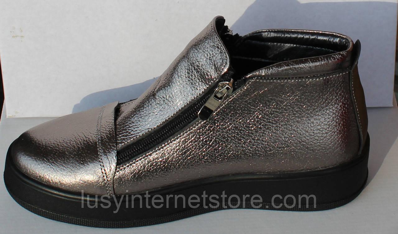0e9f31984 Весенние женские ботинки кожаные, женская обувь кожаная от производителя  модель НП1516-6-1 ...