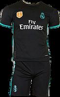 Форма футбольная детская Real Madrid (SX,S,M,L,XL) 2018 гостевая без номера NEW!, фото 1