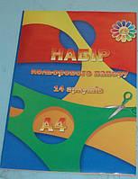 Бумага цветная, А4, ТМ Тетрада, 499810