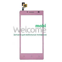 Сенсор (тач скрин) Ergo Smart Tab 4.5 pink