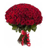 Ваш cад Букет из красных роз 101 шт.