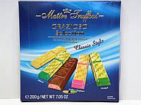 Шоколад в стиках Maitre Truffout Grazioso Classic Style 200г, фото 1