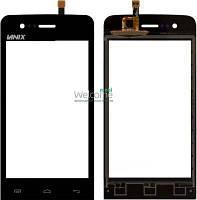 Сенсор (тач скрин) Explay Hit Phone black