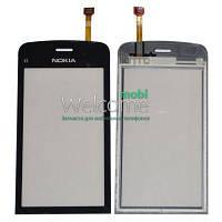 Сенсор (тач скрин) Nokia C5-03,C5-06 black
