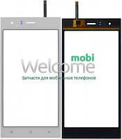Сенсор Nomi i500 Sprint white, тач скрин для телефона смартфона