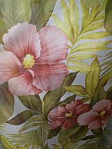 """Тюль печать """"Терракотовый цветок"""", фото 3"""
