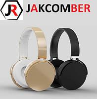 Стерео Блютуз (Bluetooth 4.1) наушник JAKCOMBER BH2 Микрофон, FM, Быстрая Зарядка, СУПЕР ЗВУЧАНИЕ ПОДАРКИ!