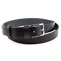 Женский кожаный ремень S-01 (черный)