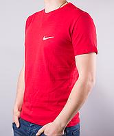 Красная мужская футболка Nike (Найк) | 100 % хлопок, размеры: 44-52