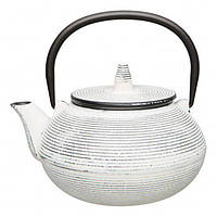 Заварочный чайник BergHOFF чугунный 0.7 л Белый (1107201), фото 1