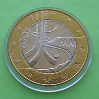 Финляндия 5 евро 2003 г. Чемпионат мира по хоккею.
