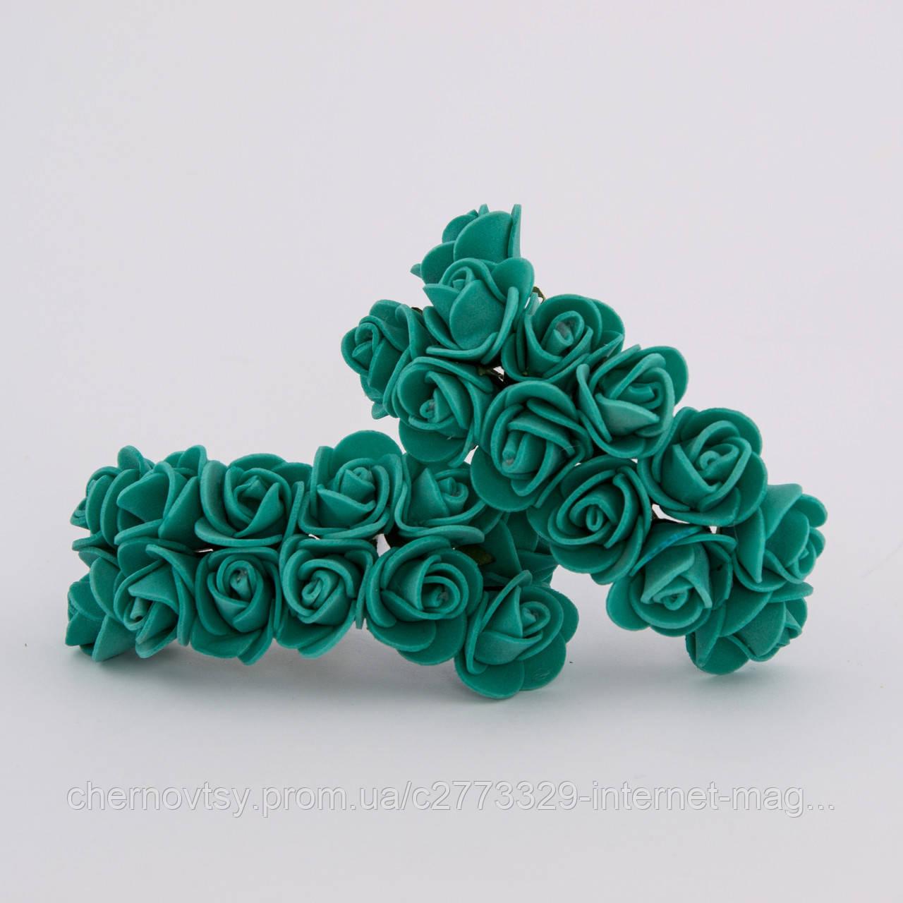 Троянди з фоамірану 3.5 см, уп. 144 шт.