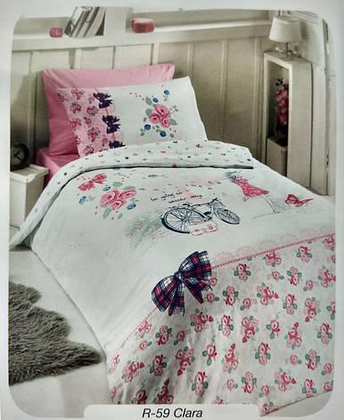 """Детское полуторное постельное белье First Choice Ranforce """"Clara"""", фото 2"""