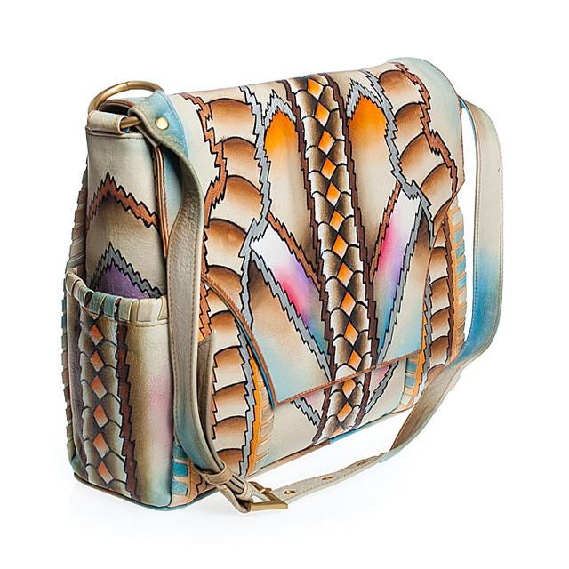 Экзотические сумки из натуральной кожи