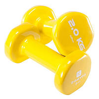 Фитнес гантели Domyos 2x2 кг.