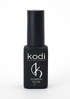 Каучуковое верхнее покрытие для гель лака Rubber Top Gel Kodi Professional 12 мл