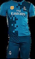 Футбольная форма детская Real Madrid (SX,S,M,L,XL) 2018 домашняя без номера NEW!