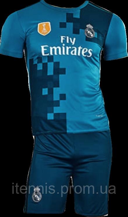 Форма футбольная детская Real Madrid (XS,S,M,L,XL) 2018 домашняя без номера NEW!