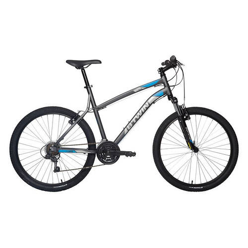 Велосипед B'twin Rockrider 340 темно-серый