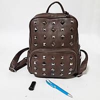 Стильный городской рюкзак brown 16 л, фото 1