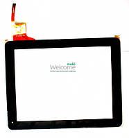 Сенсор (тач скрин) для China-Tablet  PC 9,7 (#WJ-DR97010)Ritmix RDM-1040, RDM-1055 Digma  IDS 10 black, capacitive, 12 pin (237*184 mm), 9.7)
