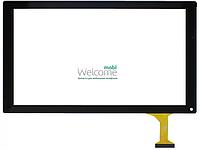 Сенсор Bravis (252*146) NP101,Q100L black тач скрин для планшета