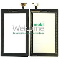 Сенсор Lenovo Tab3-710L 3G black (оригинал) тач скрин для планшета