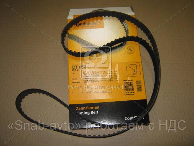 Ремень зубчатый ГРМ (производство ContiTech) (арт. CT652), ACHZX
