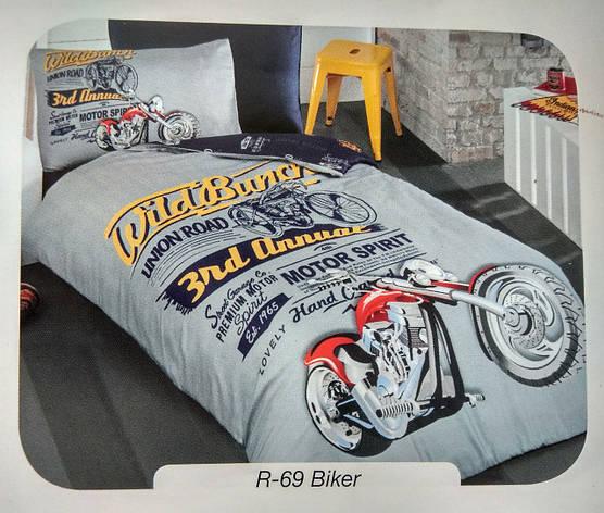 """Детское полуторное постельное белье First Choice Ranforce """"Biker"""", фото 2"""