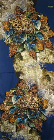 Шовковий яскравий палантин 70*170 Bongela, фото 2