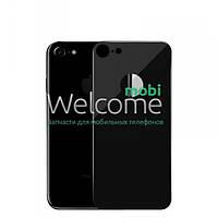 Защитное стекло iPhone 8 (0.3 мм, 4D) black на заднюю сторону Айфон 8