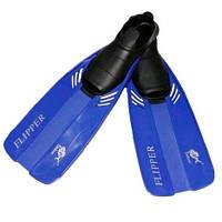 Детские ласты-галоши  Dolvor F17JR Flipper М(31-33) синий