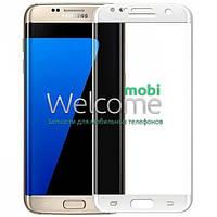 Защитное стекло Samsung J320 Galaxy J3 (2016) (0.3 мм, 3D, с олеофобным покрытием) white