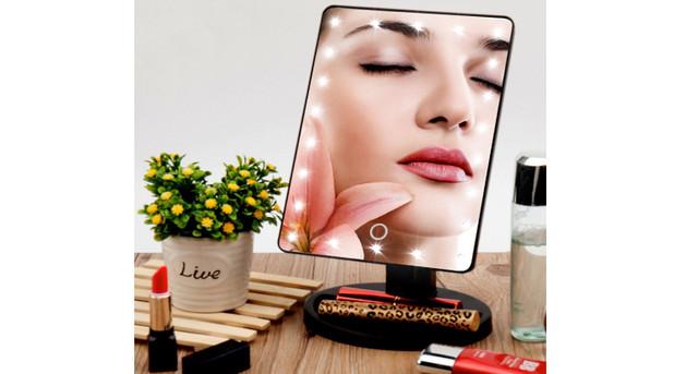 """Картинки по запросу """"Зеркало Косметическое Magic Makeup подсветкой 22 светодиод"""""""