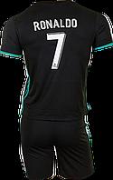 Форма футбольная детская Real Madrid Ronaldo 7 (SX,S,M,L,XL) 2018 гостевая NEW!