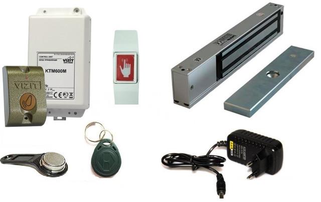 Системы контроля доступа, полные готовые комплекты