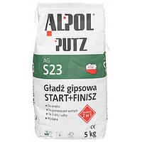 Шпаклевка гипсовая 2 в 1 Alpol Putz AG S23 5 кг