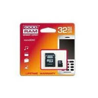 Карта памяти micro SDHC 32Gb GoodRam (Class 10, adapter)