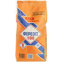Клей для плитки Ферозит 100 5 кг