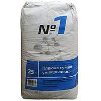Клей для плитки Polimin универсальный №1 25 кг