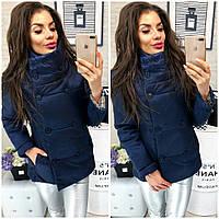 Куртка, модель 1001/2, цвет - темно синий