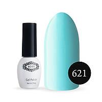 Гель-лак KOTO №621 (небесно-голубой, эмаль), 5 мл