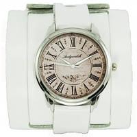 """Наручные часы на эксклюзивном ремешке """"Белый винтаж"""""""
