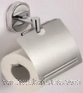 Тримач для туалетного паперу з кришкою SOLONE Z3903