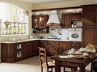 классическая кухня из массива черешни фото 66