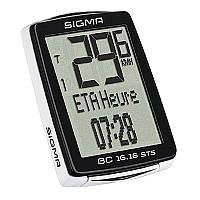 Велокомпьютер Sigma Sport BC16.16 STS беспроводной