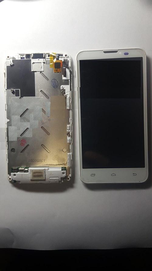 Дисплей (LCD) Prestigio 5300 с сенсором белый + рамка