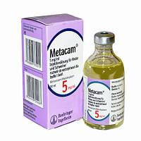 Метакам (мелоксикам) 0,5% р-р д/ин 50мл - для леч. острых и хронич. заболев.опорно-двиг. аппарата у собак