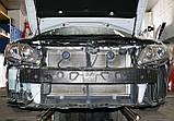 Декоративно-захисна сітка радіатора Toyota Camry фальшрадіаторная решітка, бампер, фото 2